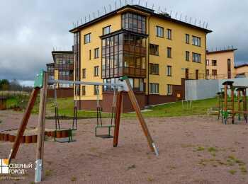 Детская игровая площадка в ЖК Mistola Hills